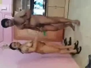 Desi threesome with clear hindi audio