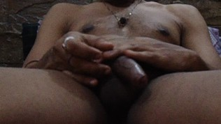 Indian Masculine Masturbating