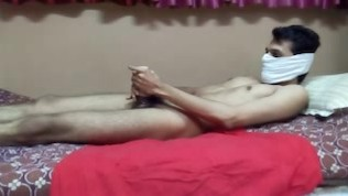 Indian Handjob With Fuck-fest Plaything And Oil.